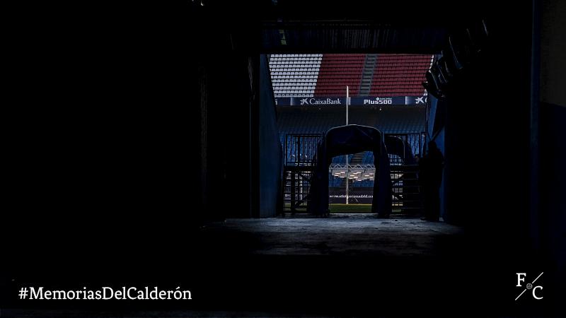 Memorias del Calderón. Entrada al estadio